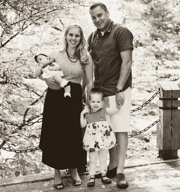 Brian Houdek and Family