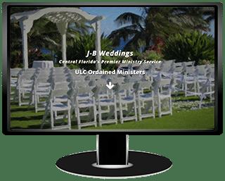 JB Weddings Website