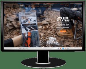 Live Fire Gear Website