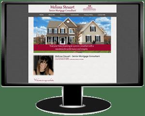 Melissa Steuart Mortgage Website