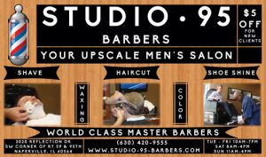 Studio 95 Barbers Flyer