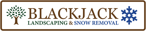 Blackjack Landscaping Logo
