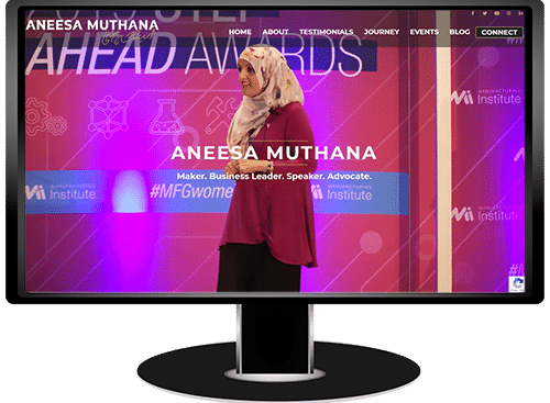 Aneesa Muthana Website