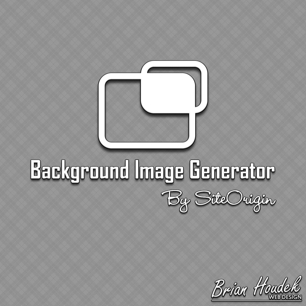 Background Image Generator By SiteOrigin