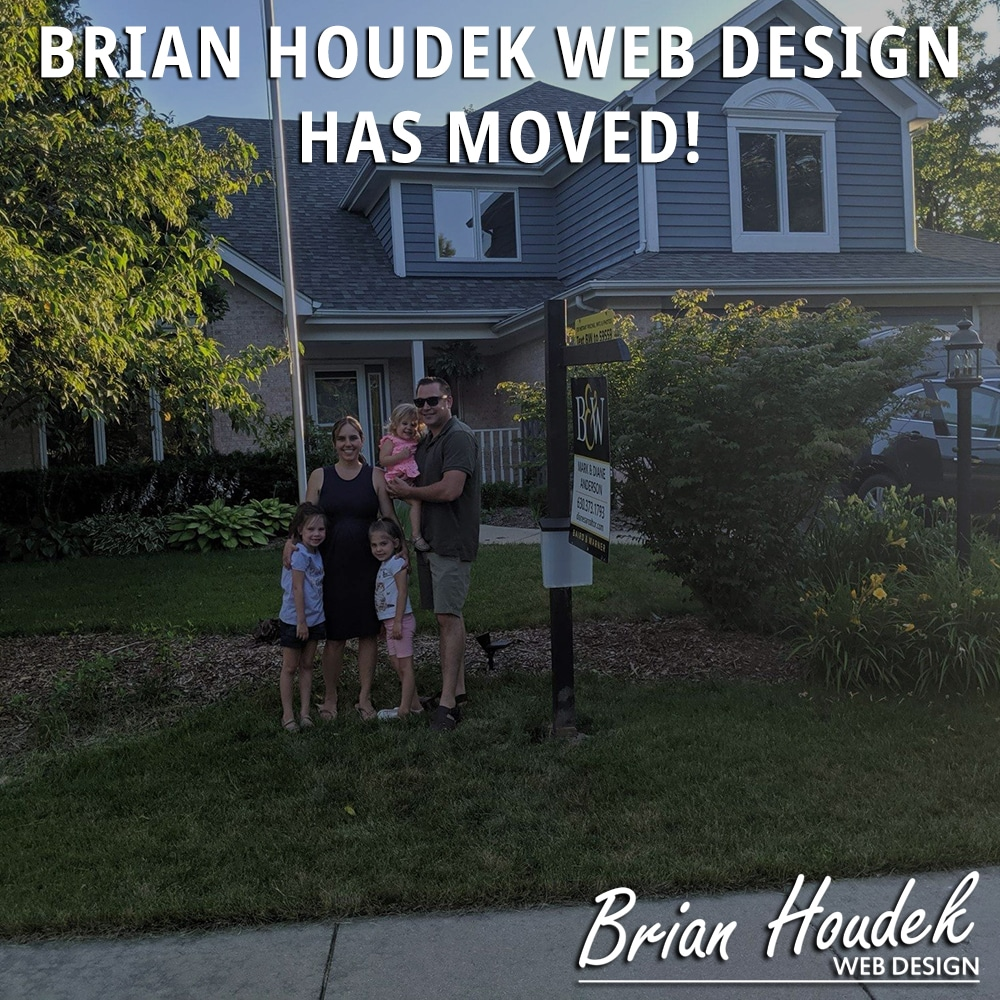 Brian Houdek Web Design Has Moved