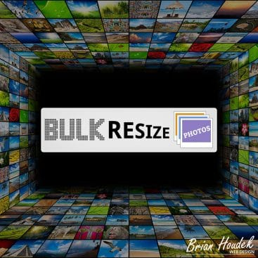 Bulk Resize Photos - My Favorite Resizing Tool