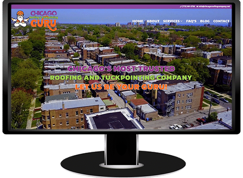 Chicago Roofing & Tuckpointing Guru Website