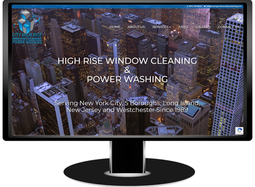 City High Rise Window Cleaning Website