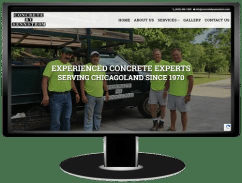 Concrete By Sennstrom Website