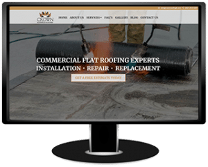 Crown Roofing & Masonry Website
