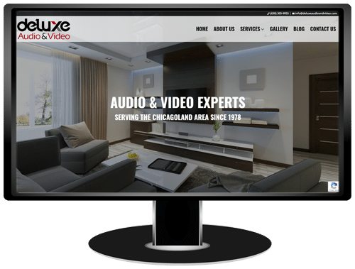 Deluxe Audio & Video Website