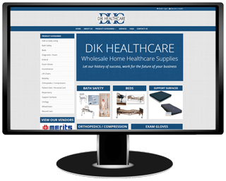 Dik Healthcare Website