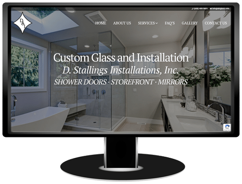 DSI Glass Website