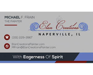 Elan Creations Business Card