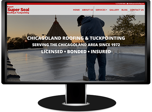 Expert Super Seal Roofing & Tuckpointing Website