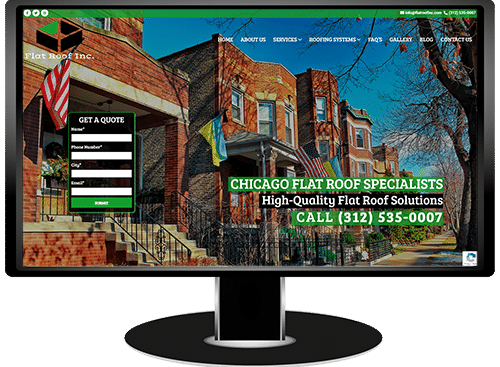 Flat Roof Inc Website