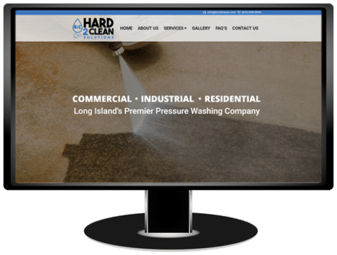 Hard2Clean Solutions Website