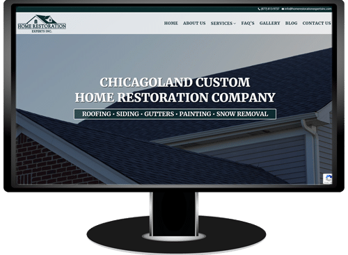 Home Restoration Experts Website