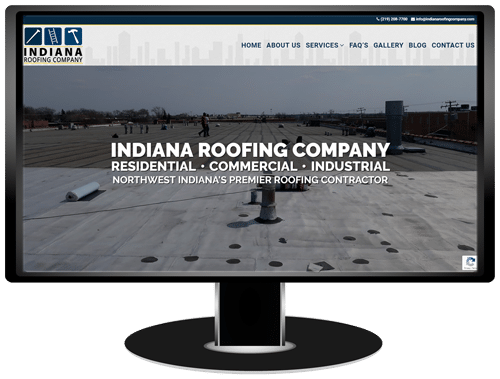 Indiana Roofing Company Website