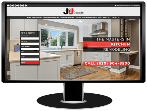 J&J Construction Website