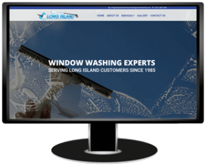 Long Island Window Washing and Power Washing Website