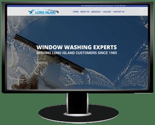 Long Island Window Washing and Power Washing Website