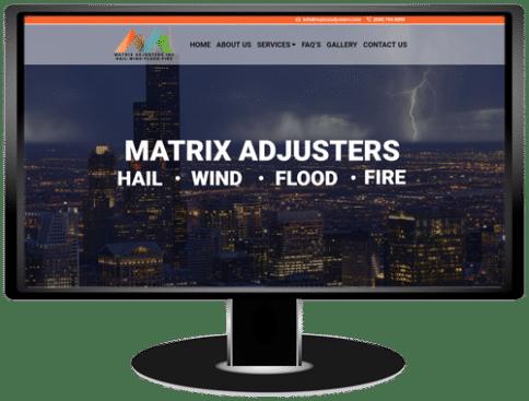 Matrix Adjusters Website