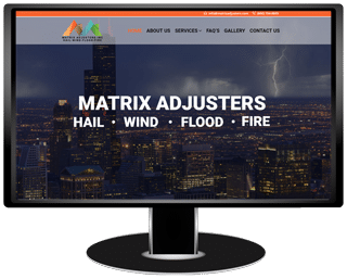 Matrix Adjusters Website