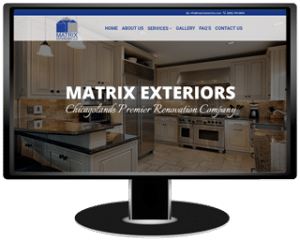Matrix Exteriors Website