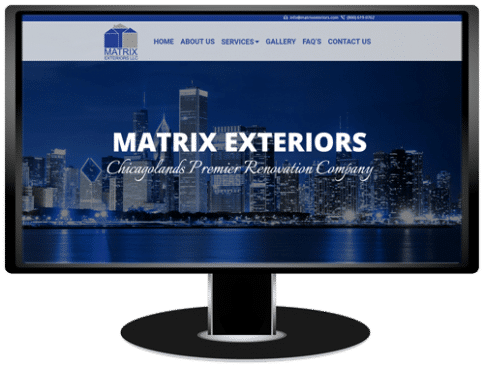 Matrix Exteriors Website