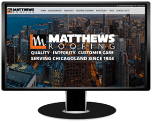 Matthews Roofing Website