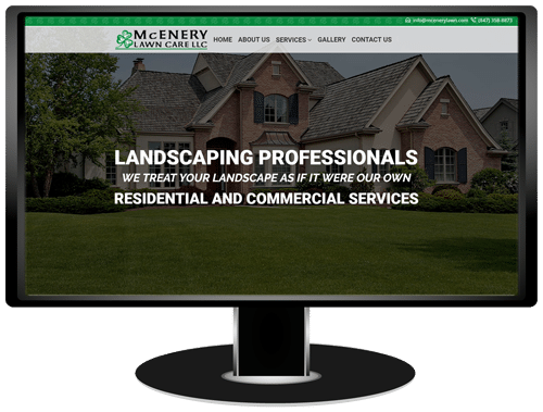 McEnery Lawn Care Website