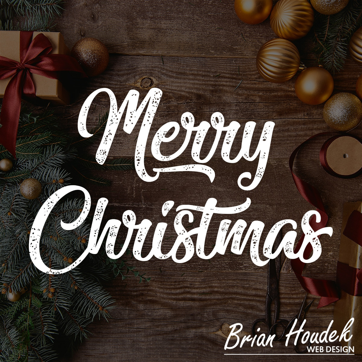 Merry Christmas From Brian Houdek Web Design