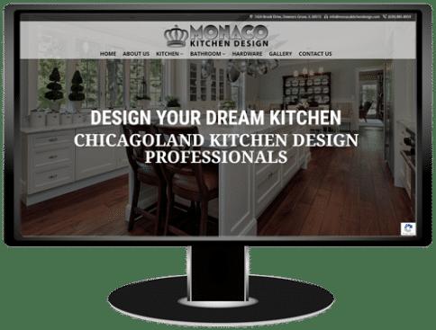 Monaco Kitchen Design Website