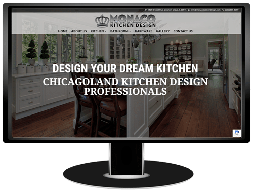 Monaco Kitchen Design Website