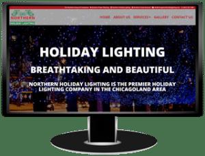 Northern Holiday Lighting Website