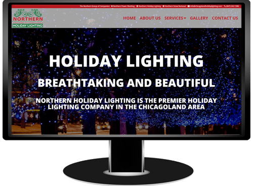Northern Holiday Lighting Website