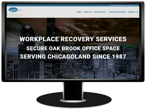Q-Tech Communications Website