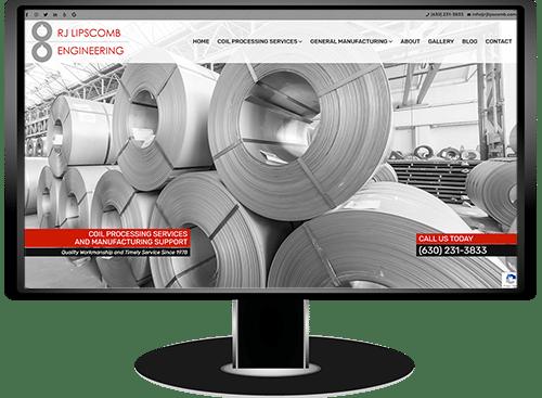 RJ Lipscomb Engineering Website