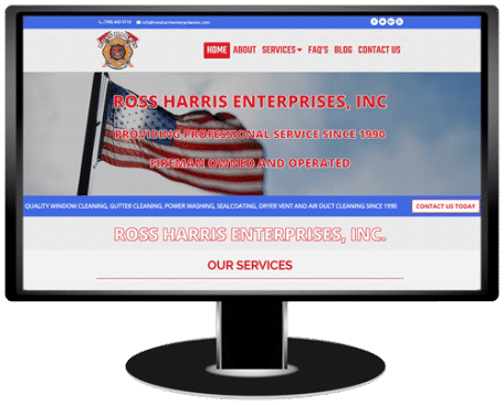 Ross Harris Enterprises Website