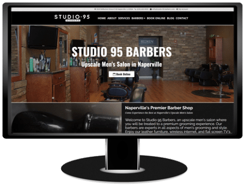 Studio 95 Barbers Website