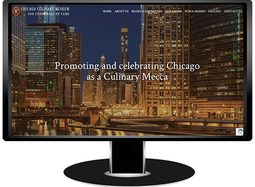 The Chicago Culinary Museum and Chefs Hall of Fame Website