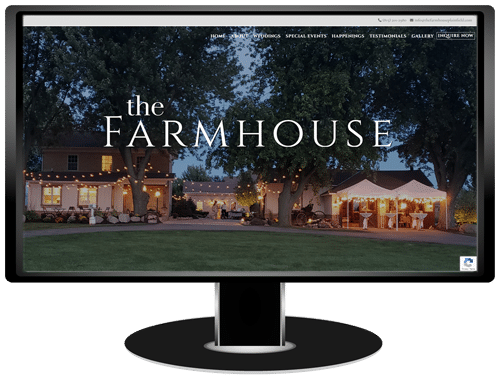 The Farmhouse Plainfield Website