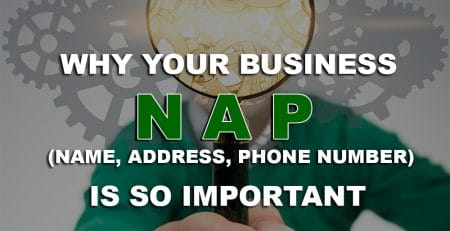 Why Your Business NAP is so Important