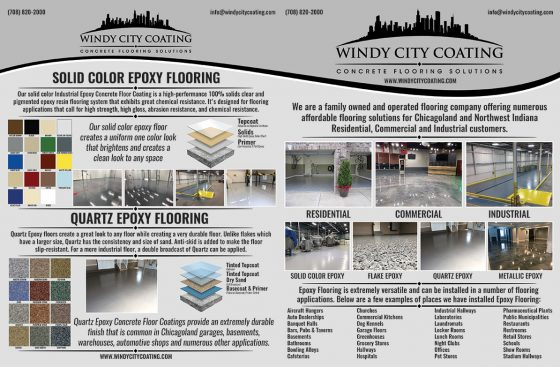 Windy City Coating Brochure