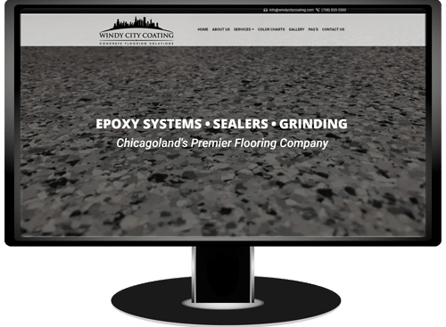 Windy City Coating Website